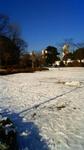 ミッドタウンの雪景色